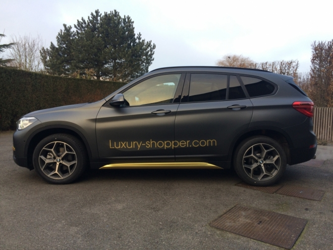 CAR WRAP BMW