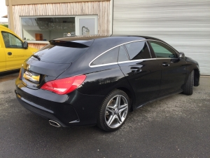 WINDOW TINTING MERCEDES CLA SHOOTING BRAKE